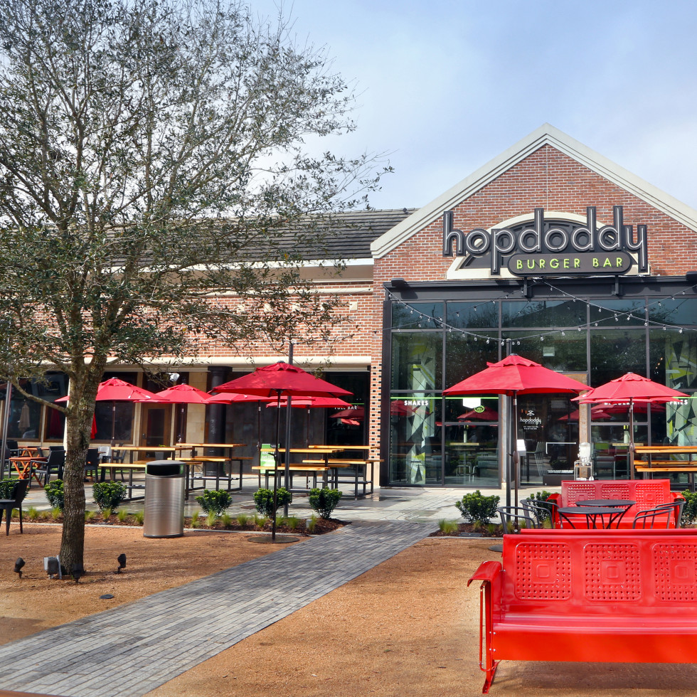 Houston, new patios, April 2017, Hopdoddy Rice Village