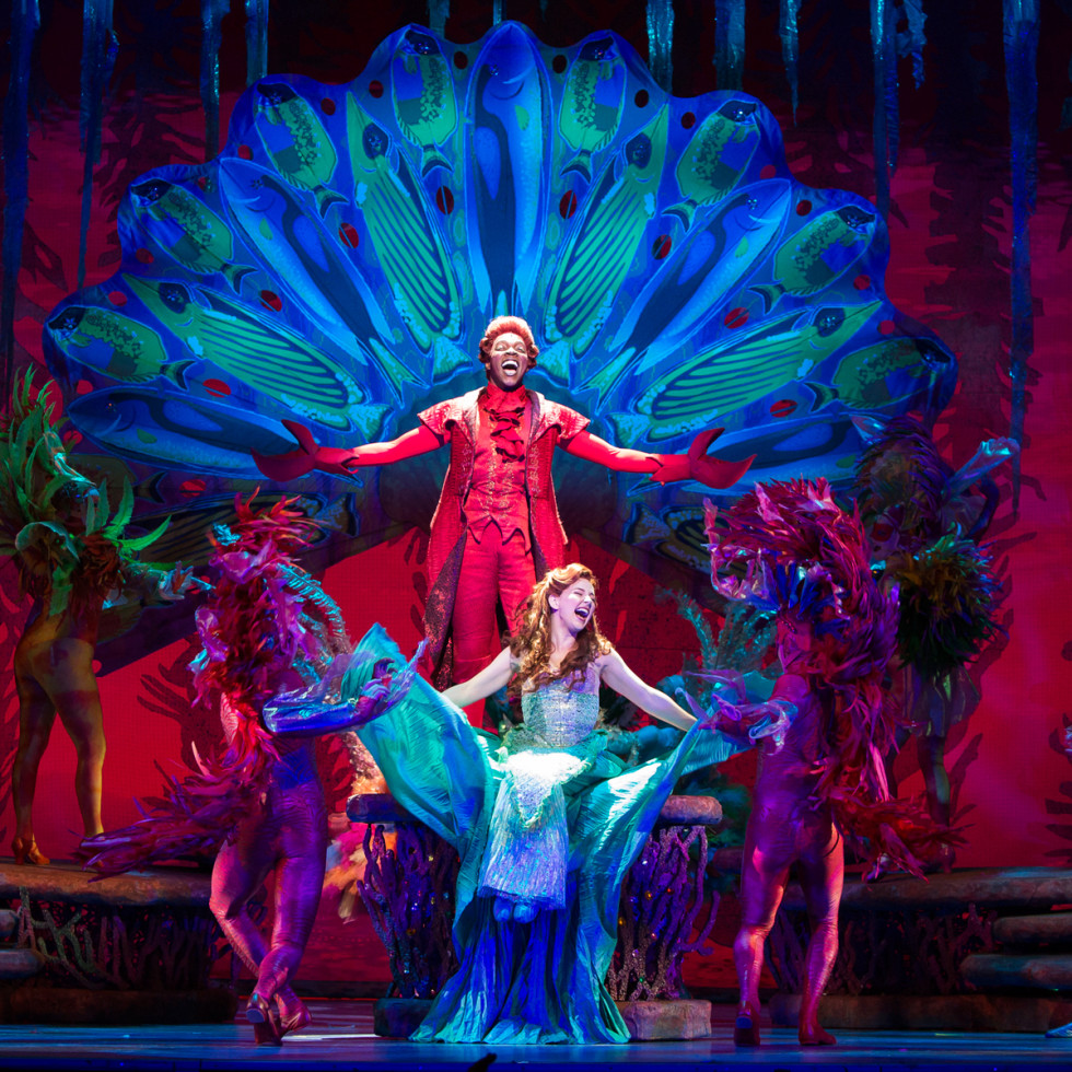 TUTS 2015-2016 season announcement February 2015 Disney's The Little Mermaid