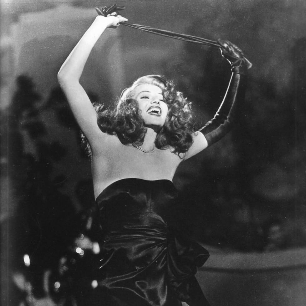 MFAH film series Femme Fatales The Women of Film Noir Aug. 2013 Rita Hayworth in Gilda
