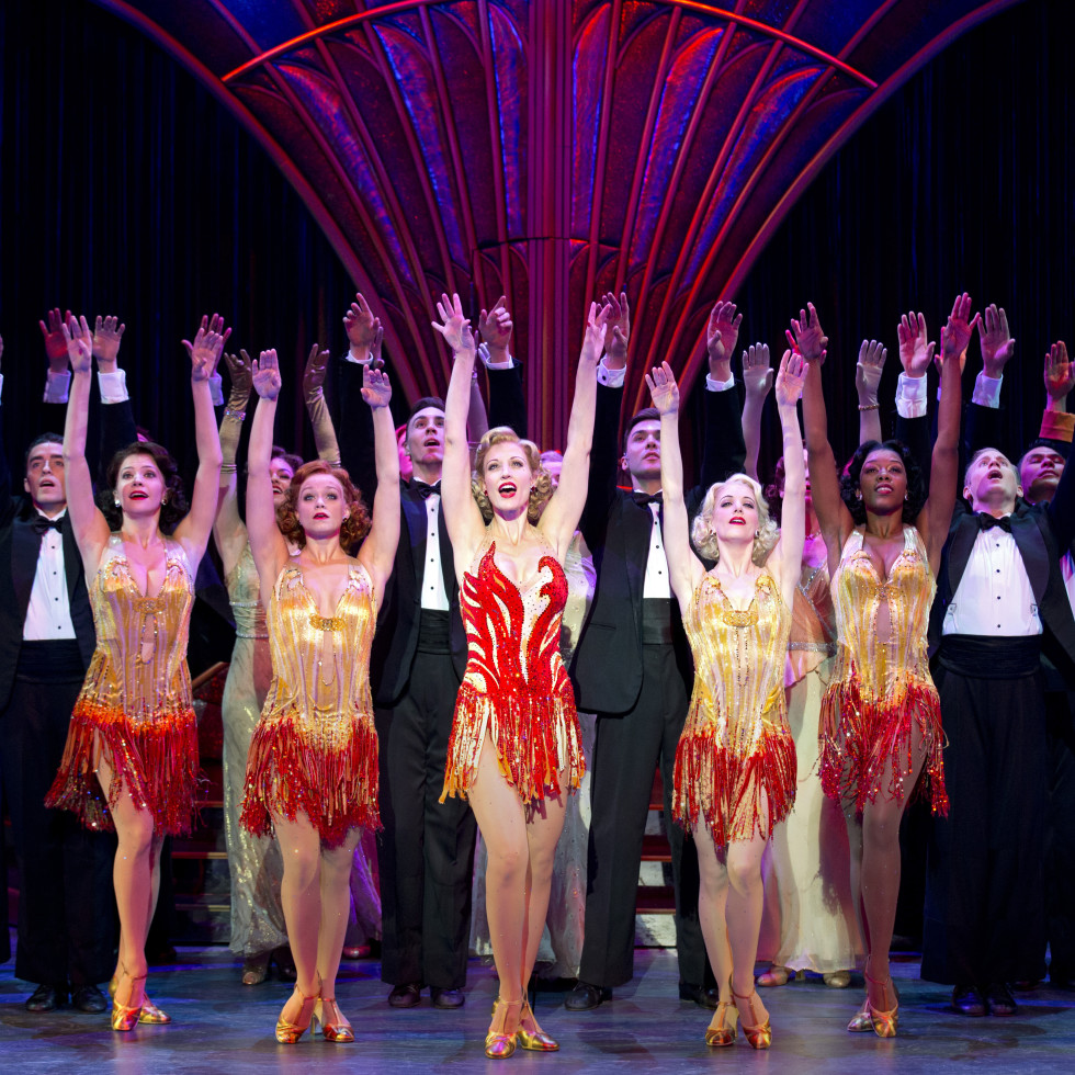 """Anything Goes"" tap-dances its way into the Winspear."