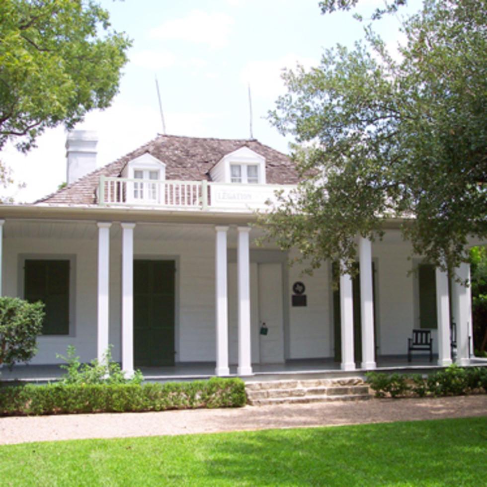 Austin Photo: Places_Arts_French_Legation_Museum_Exterior