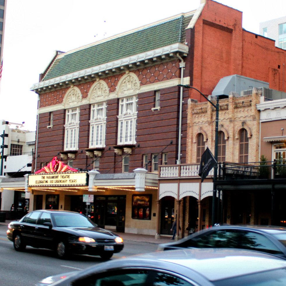 Paramount Theatre_100 Years_Exterior Now_Centennial Announcement_2015