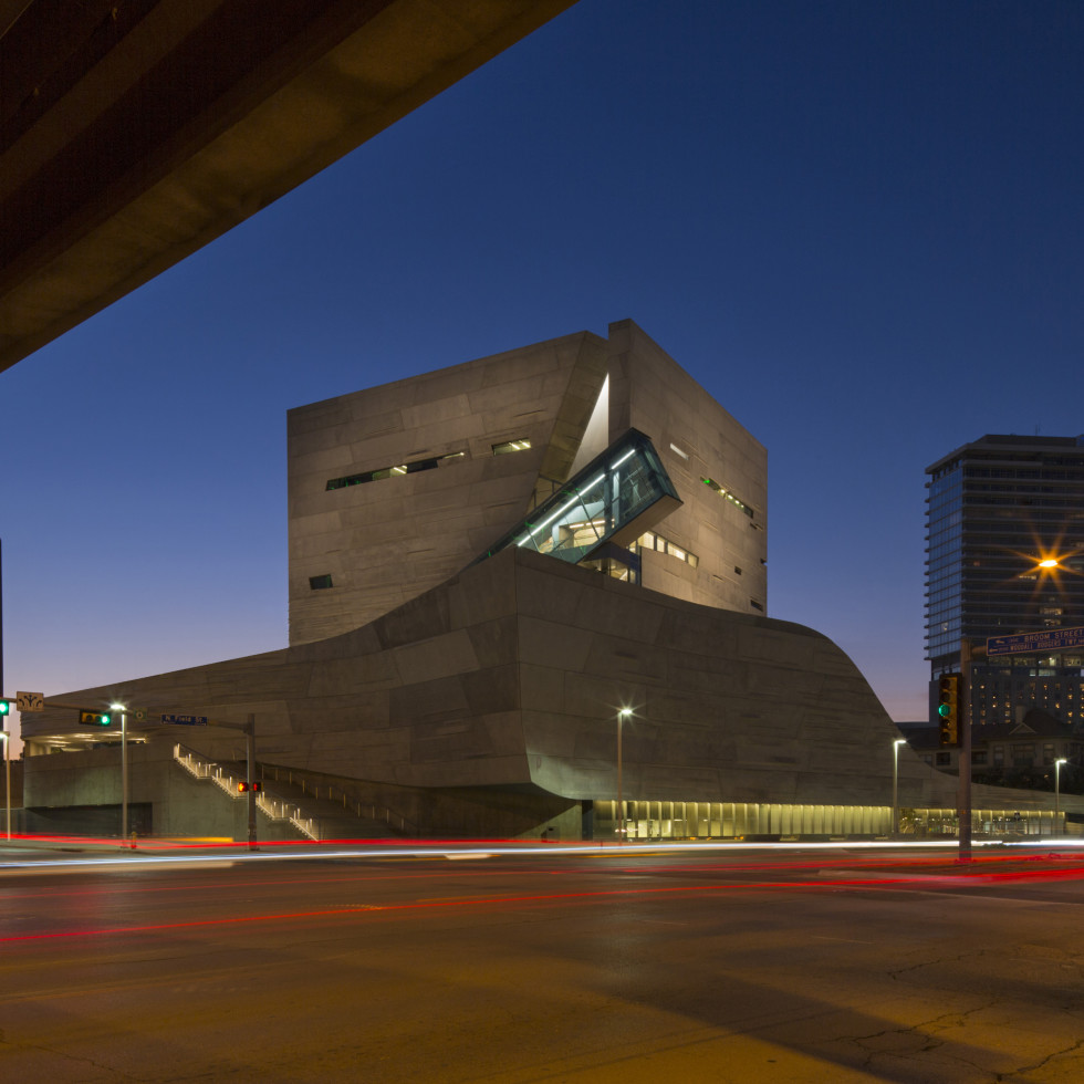 Perot Museum of Nature and Science in Dallas