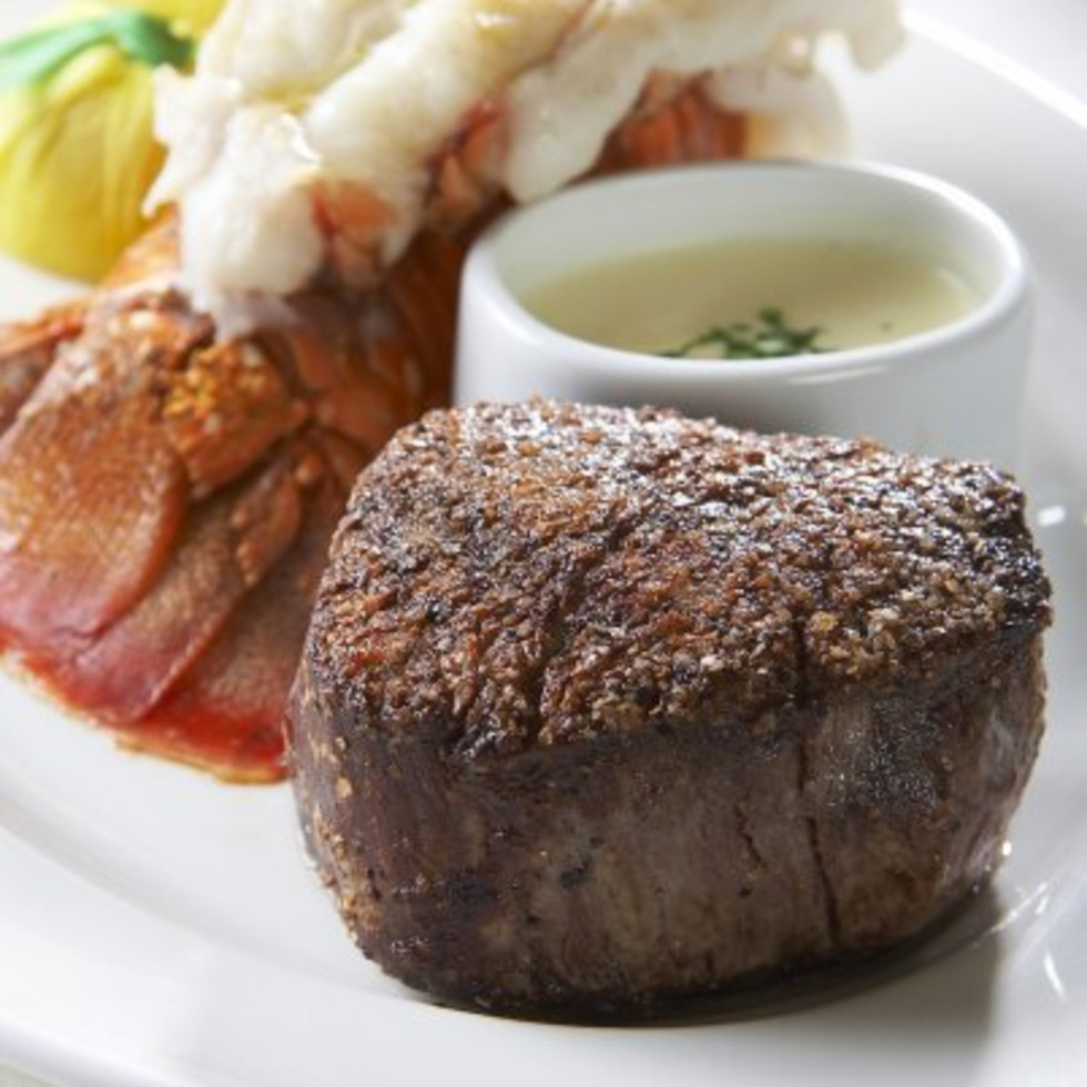 Surf and turf at Bailey's Prime Plus in Dallas