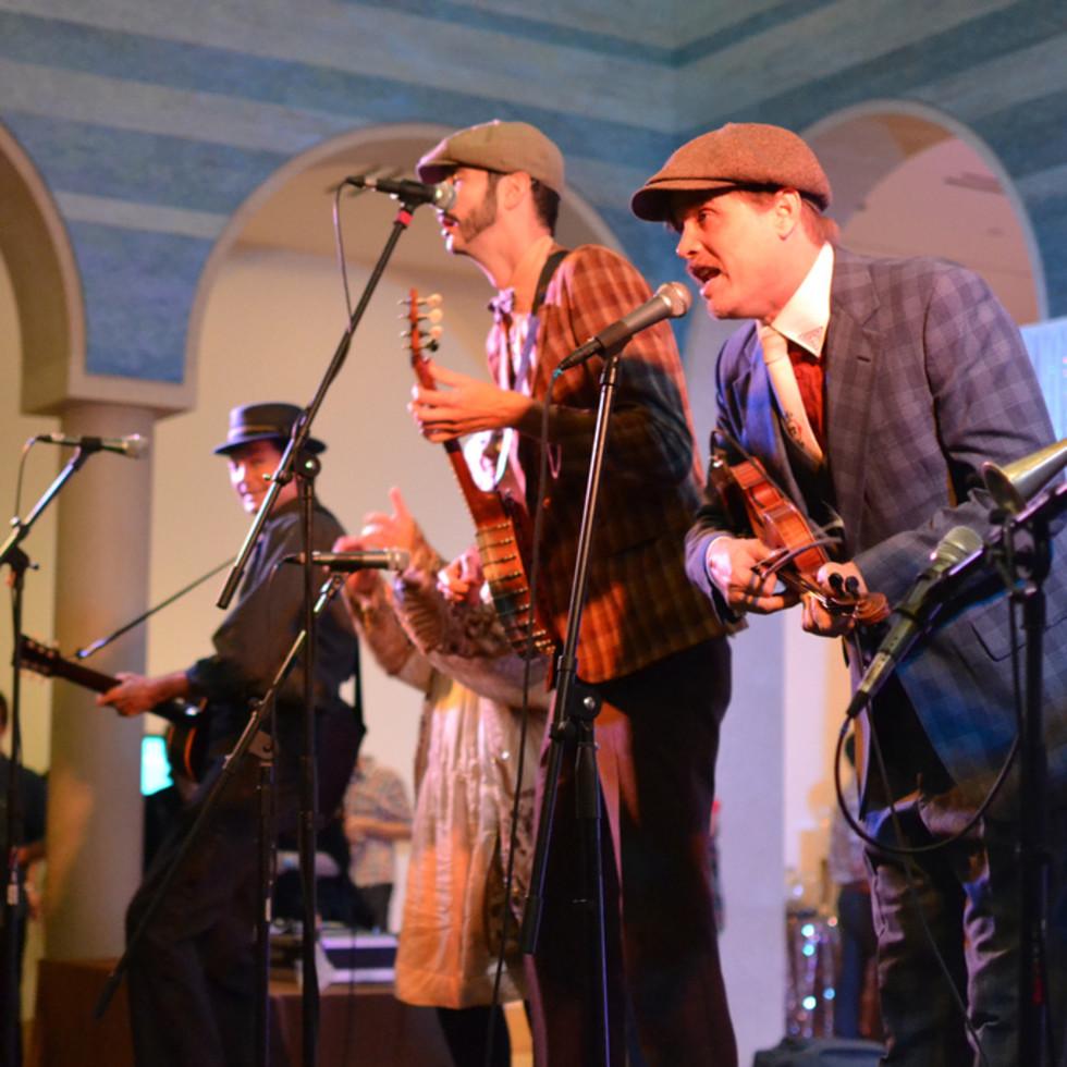 Blanton Museum B Scene Party