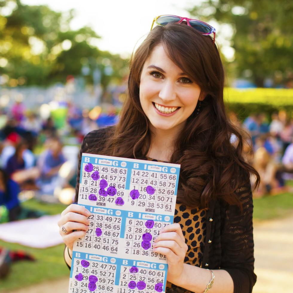 Blanket Bingo in Market Square Park