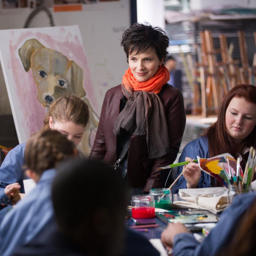 Juliette Binoche in Words and Pictures