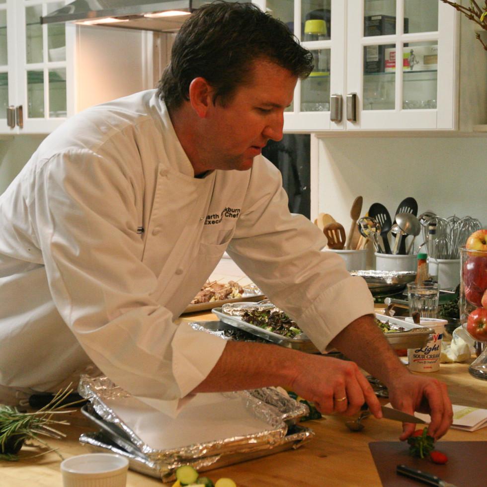 News_RecipeHouse dinner_February 2012_Chef Garth Blackburn