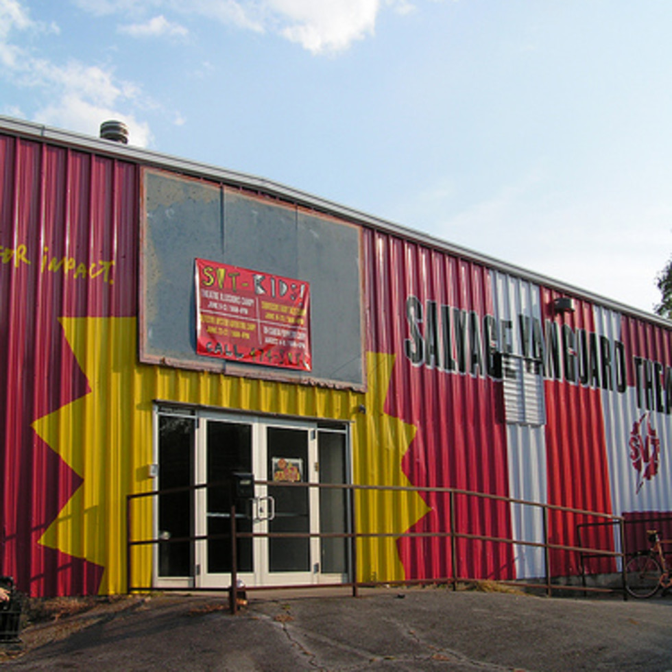 Austin Photo: Places_Arts_Salvage_Vanguard_Theatre_Exterior