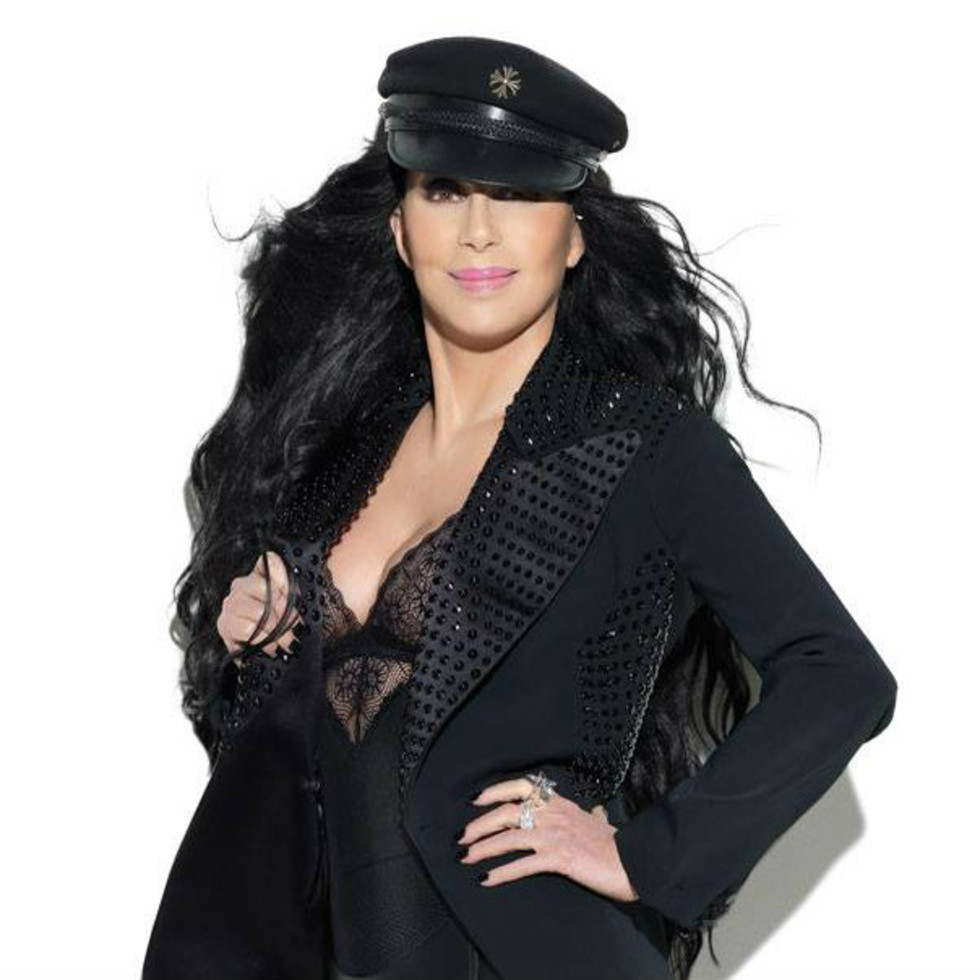 music pop diva singer Cher for Dressed to Kill tour