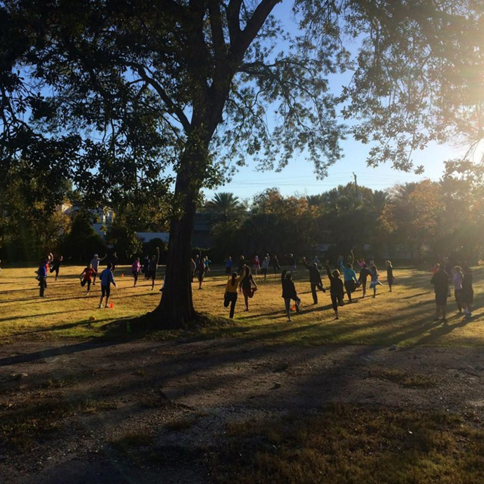 """Evelyn's Park Conservancy presents """"Inner Peace at the Park"""""""