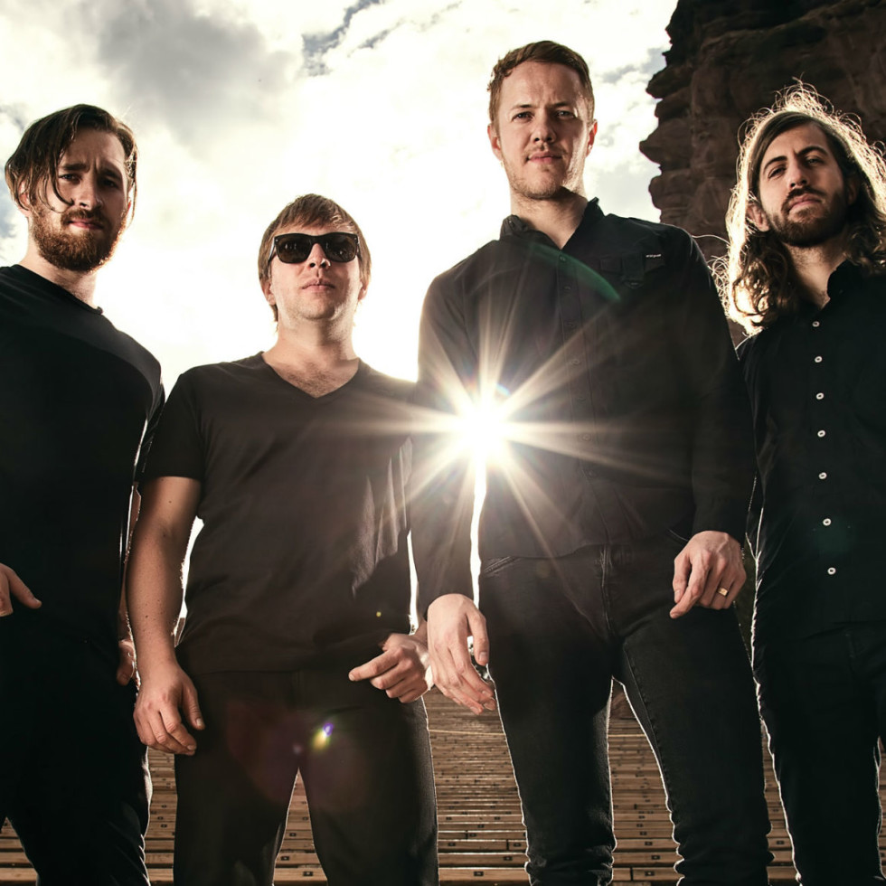 Imagine Dragons in concert with Metric and Halsey