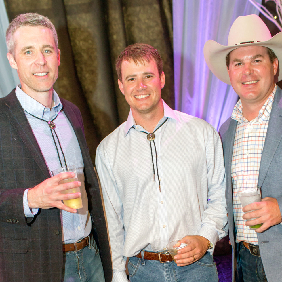 Houston, Cattle Barron's Ball 2017, May 2017, Matt Harbison, Austin Siler, Tim Riepe