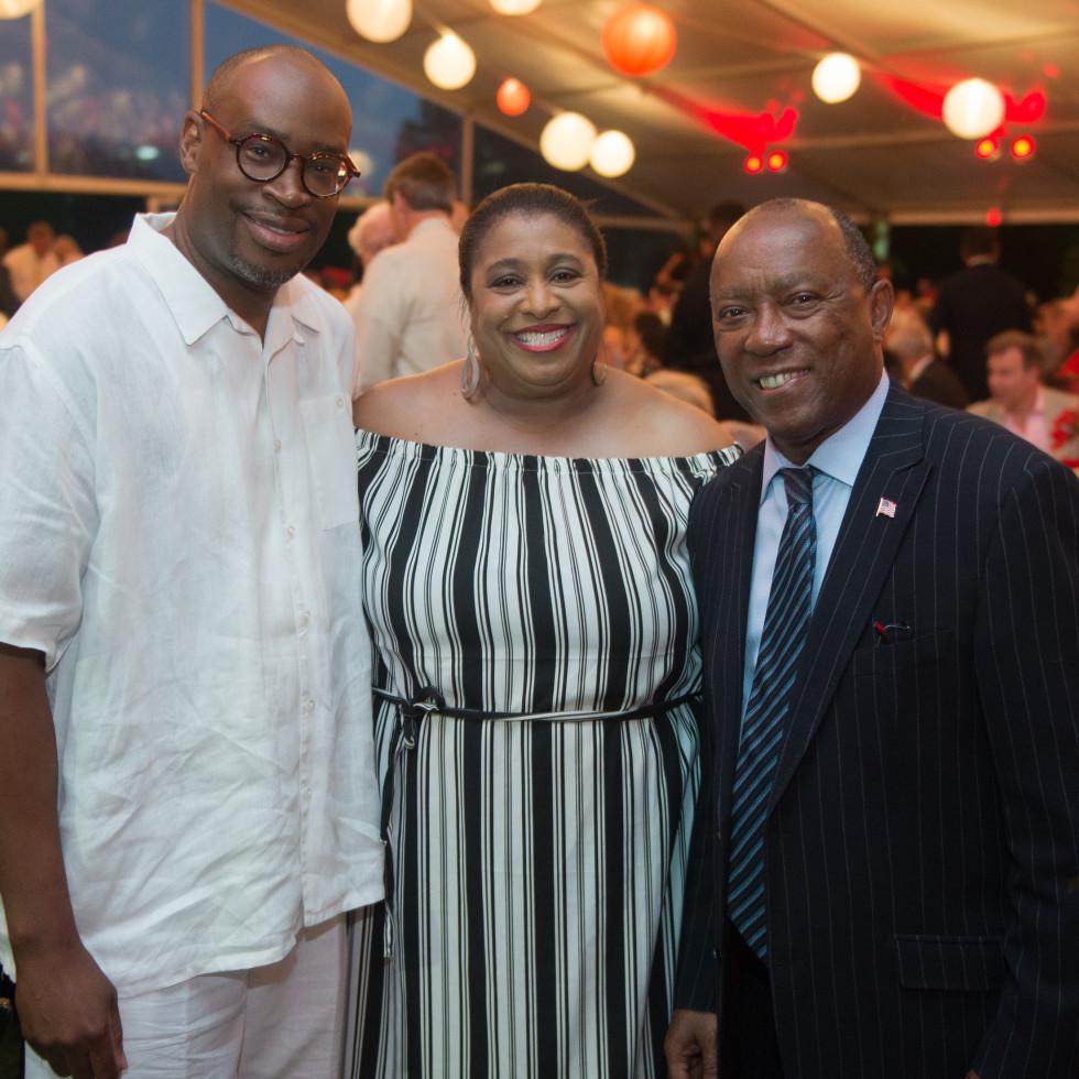 Houston, Hermann Park's  Evening in the Park 2017, May 2017, Larry Green, June Deadrick, Mayor Sylvester Turner
