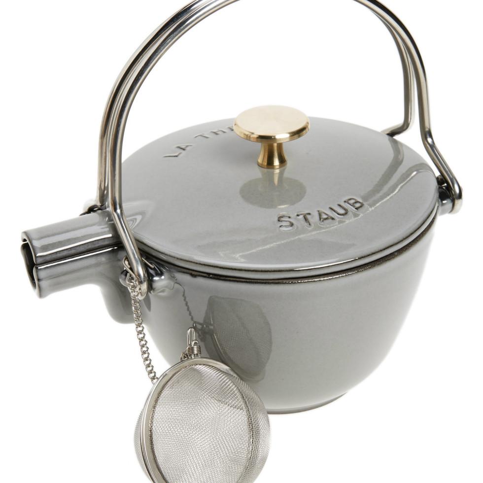 Staub tea kettle for Goop