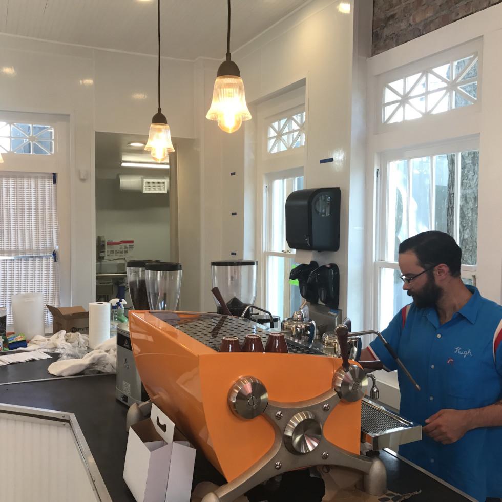 Retrospect Coffee Bar interior
