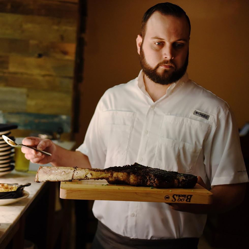 Killen's STQ tomahawk ribeye steak