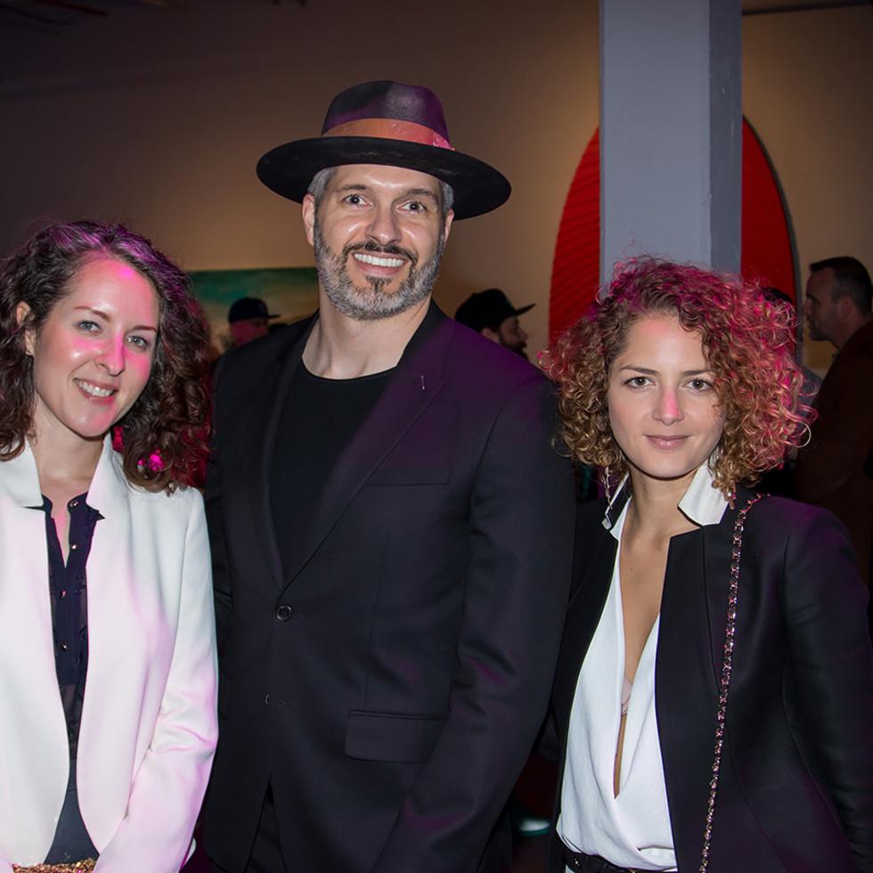 Elizabeth James, Matthew Brooker, Danielle Cardoso Maia