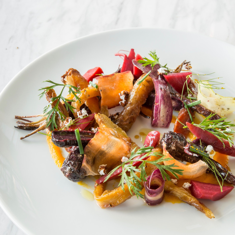 One Fifth Carrot salad