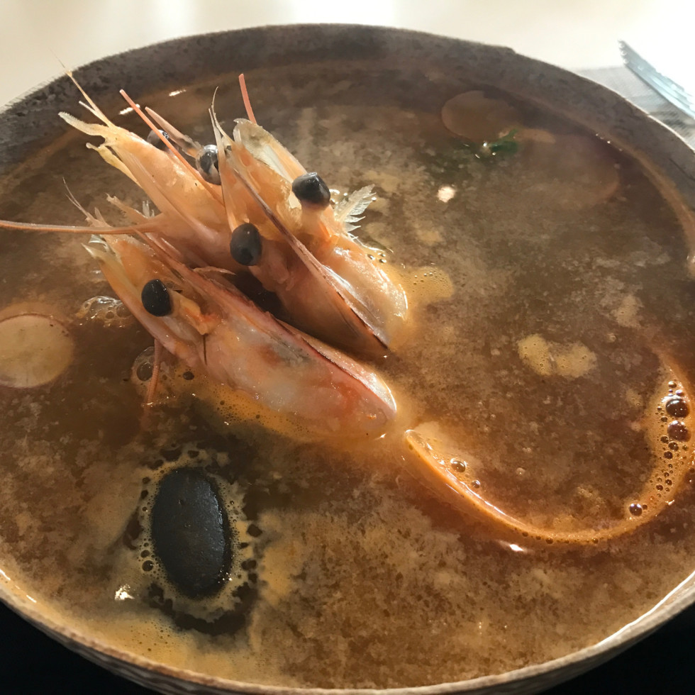 Xochi shrimp soup