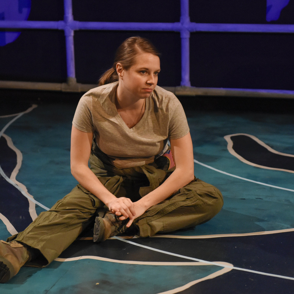 Grounded at Second Thought Theatre
