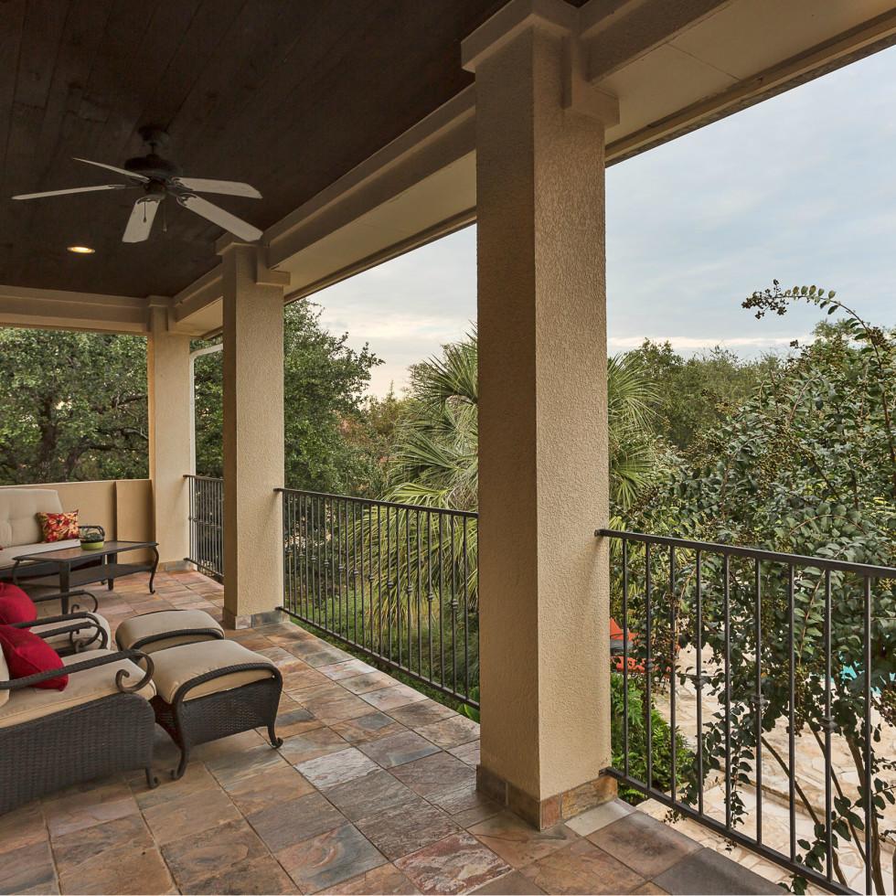 110 Bella Cima Austin house for sale balcony