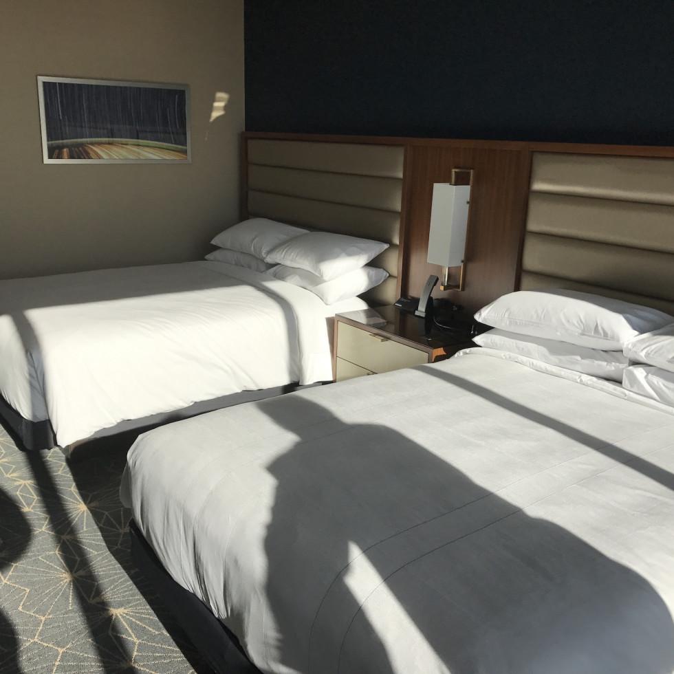 Marriott Marquis guestroom