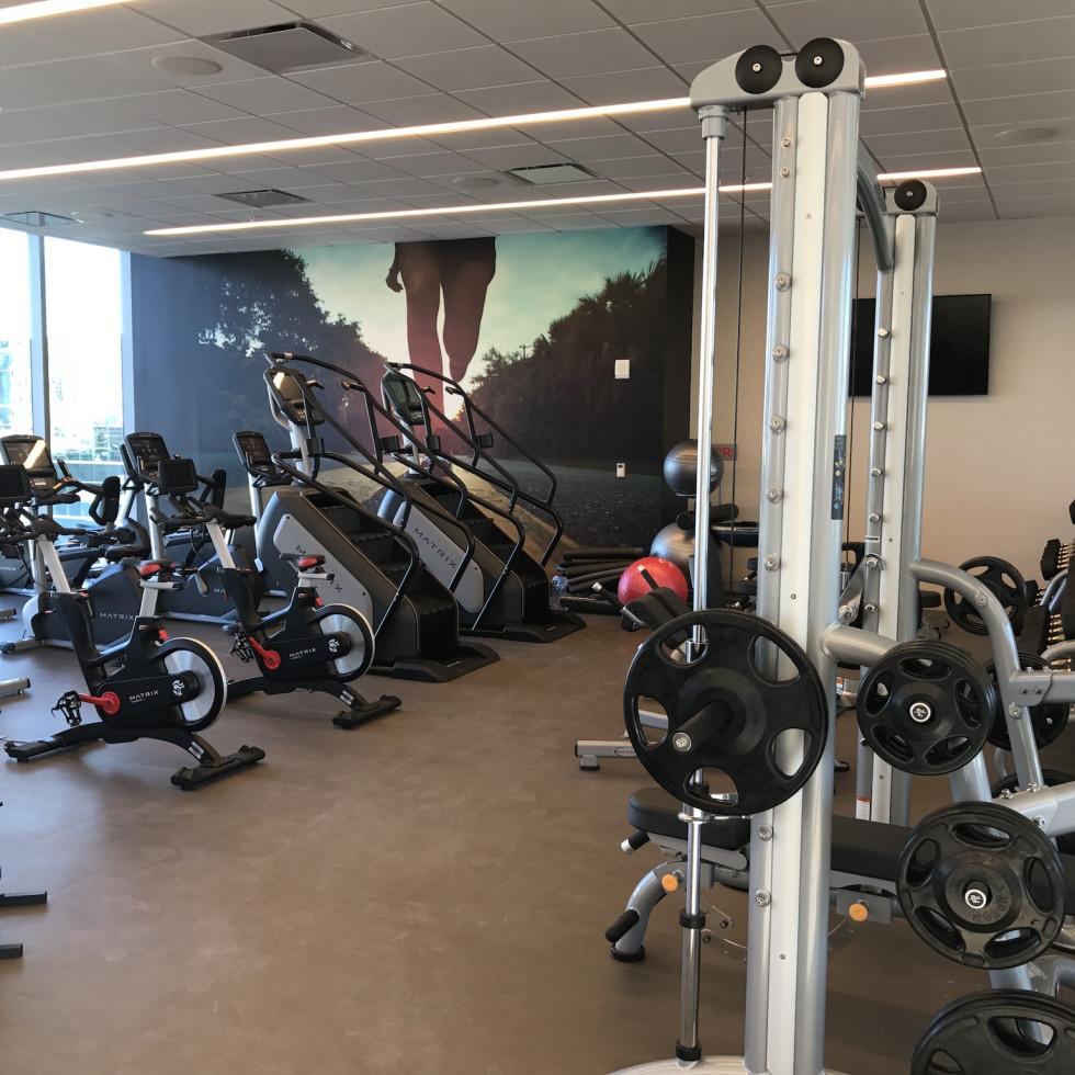 Marriott Marquis fitness center