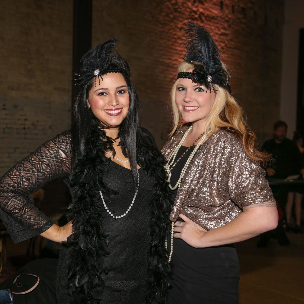CultureMap Old Forester Bourbon Ball 2016 Tania Ortega Shannon Monstrola