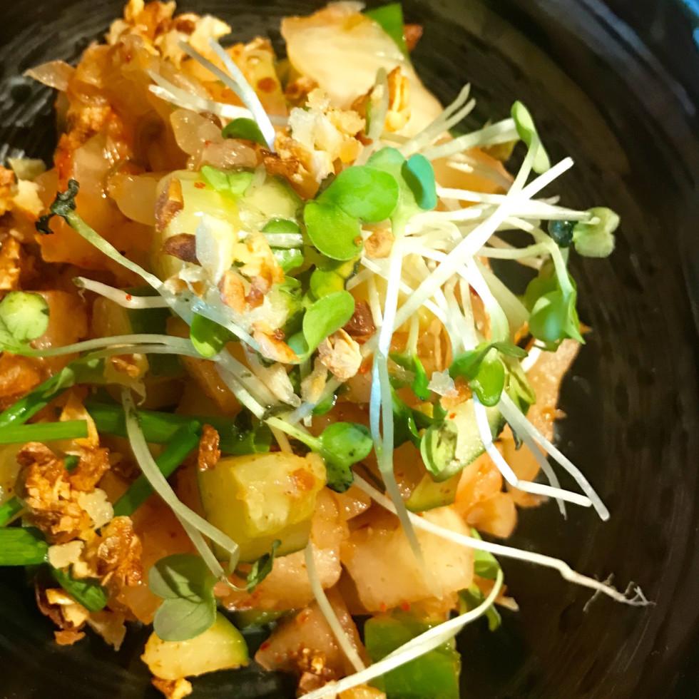 Nao Ramen cucumber salad