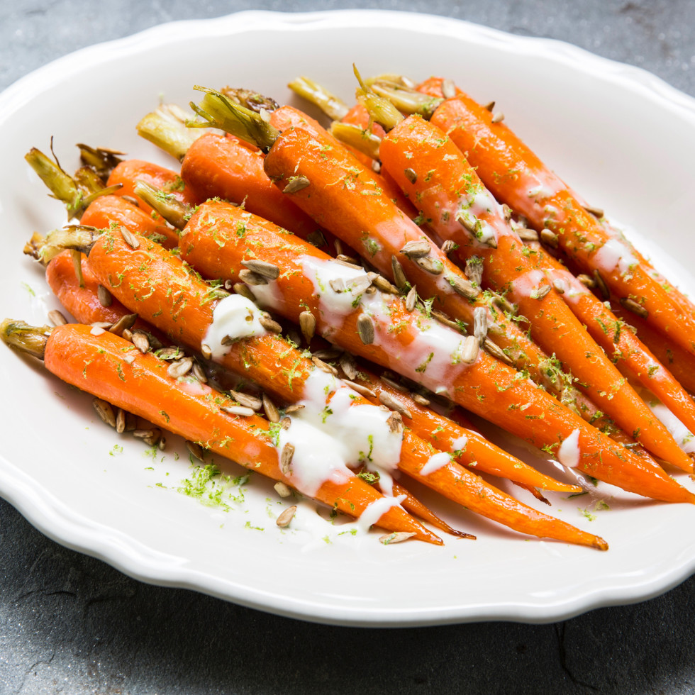 Relish restaurant glazed carrots
