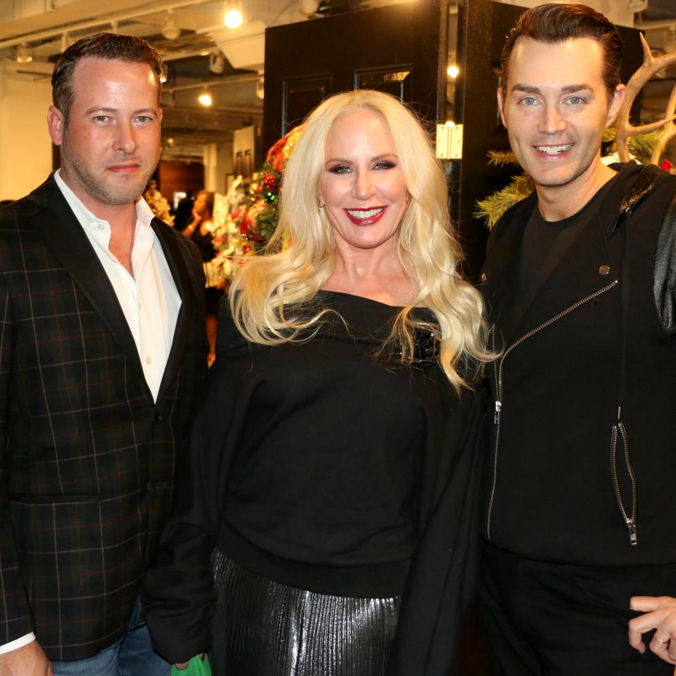 Chris McCullough, Heidi Dillon, Chuck Steelman