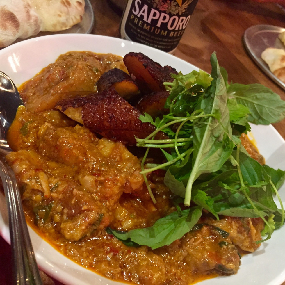 Night Market pork and plantain curry