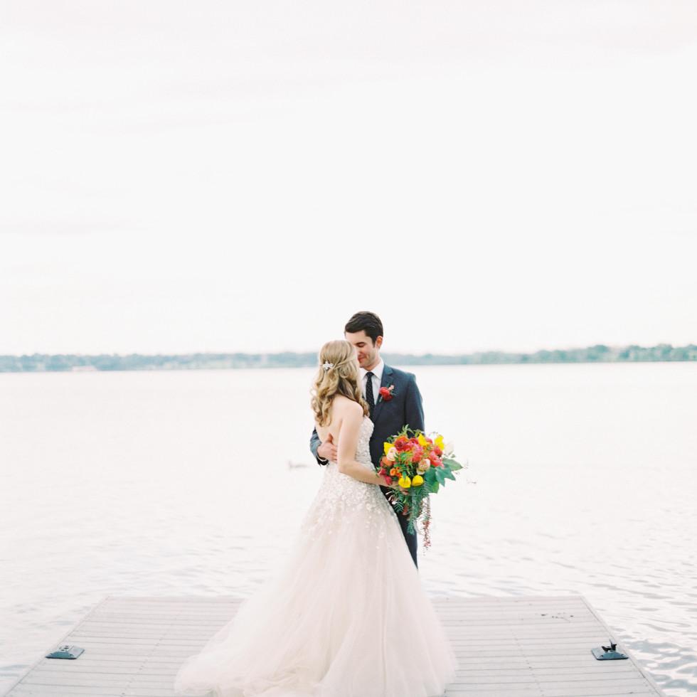 Allie and Blake Hanson wedding