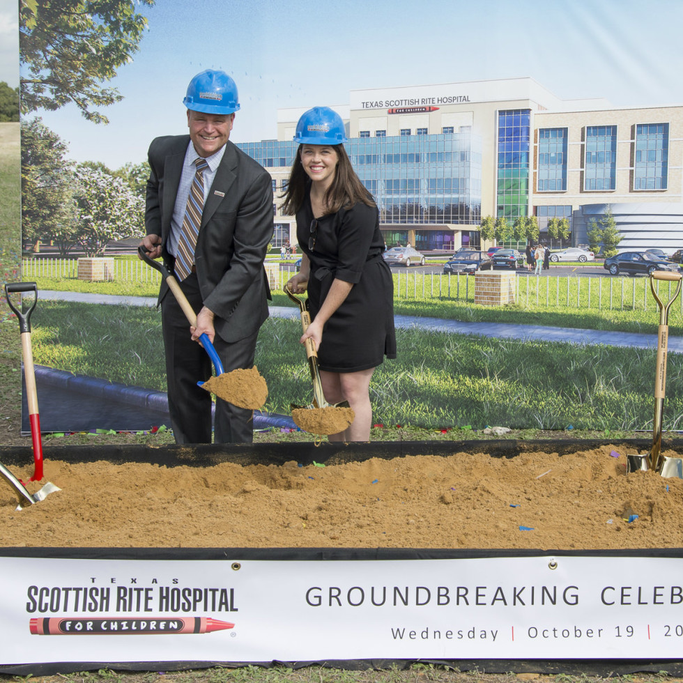 Texas Scottish Rite Hospital new Frisco building groundbreaking