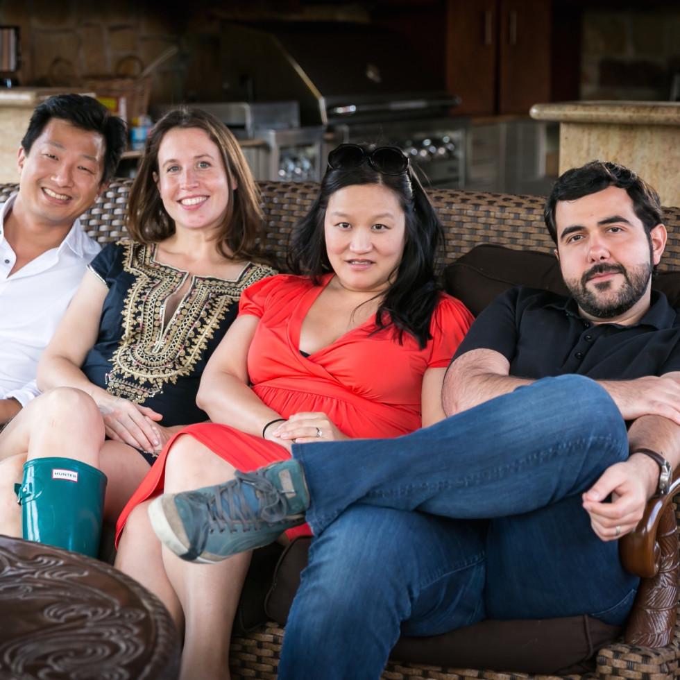 Butchers Ball Jerry Hou, Lea Tcholakian, Jenny Wang, Haig Tcholakian