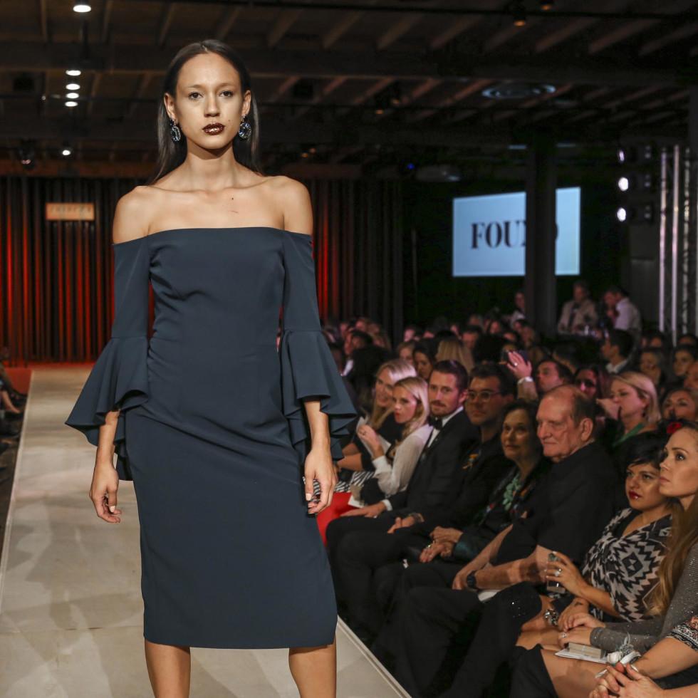 TRIBEZA Style Week Fashion Show 2016 at Brazos Hall FOUND Austin