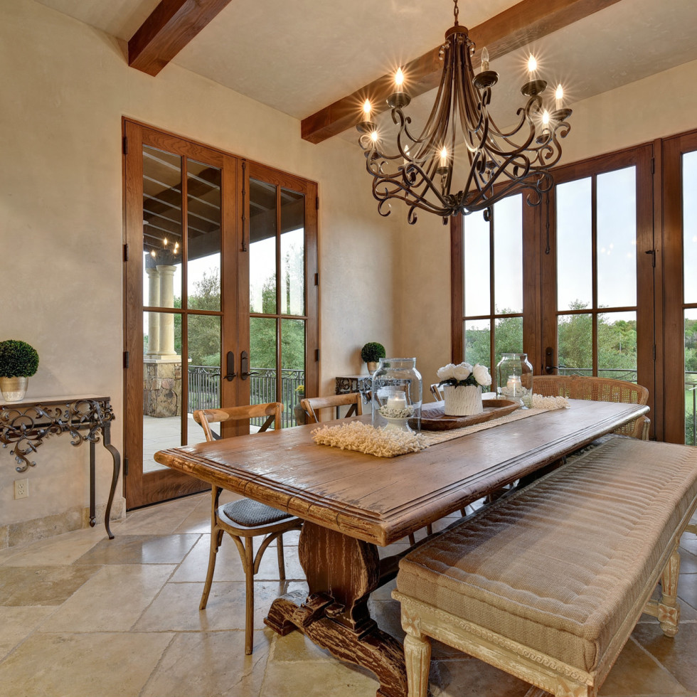 8533 Calera Austin house for sale dining room