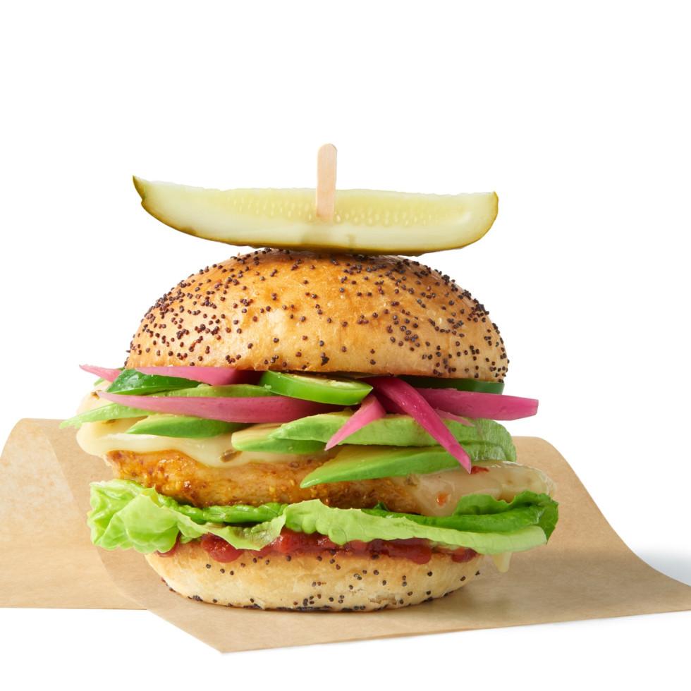 The Melt chicken sandwich