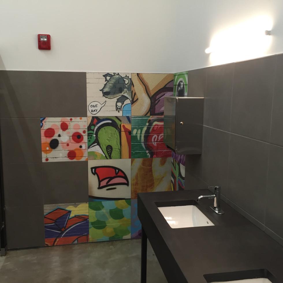 White Oak Music Hall bathroom