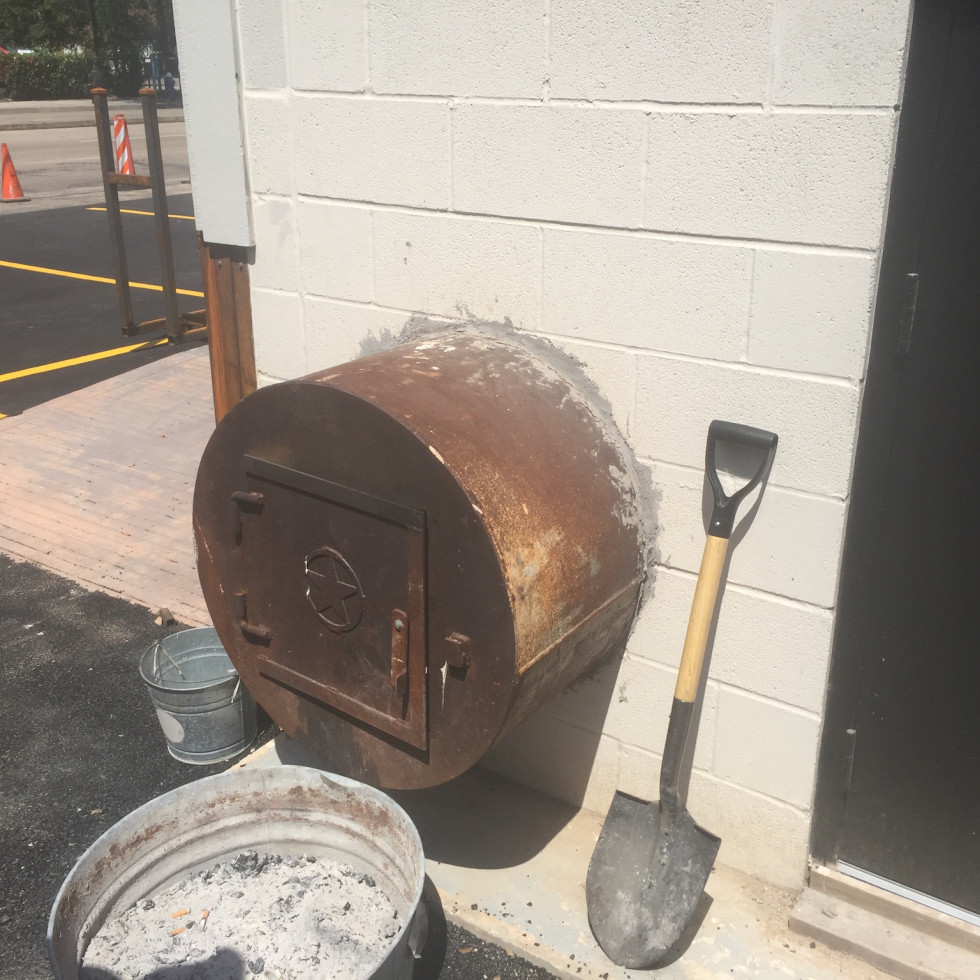 Pit Room fire box