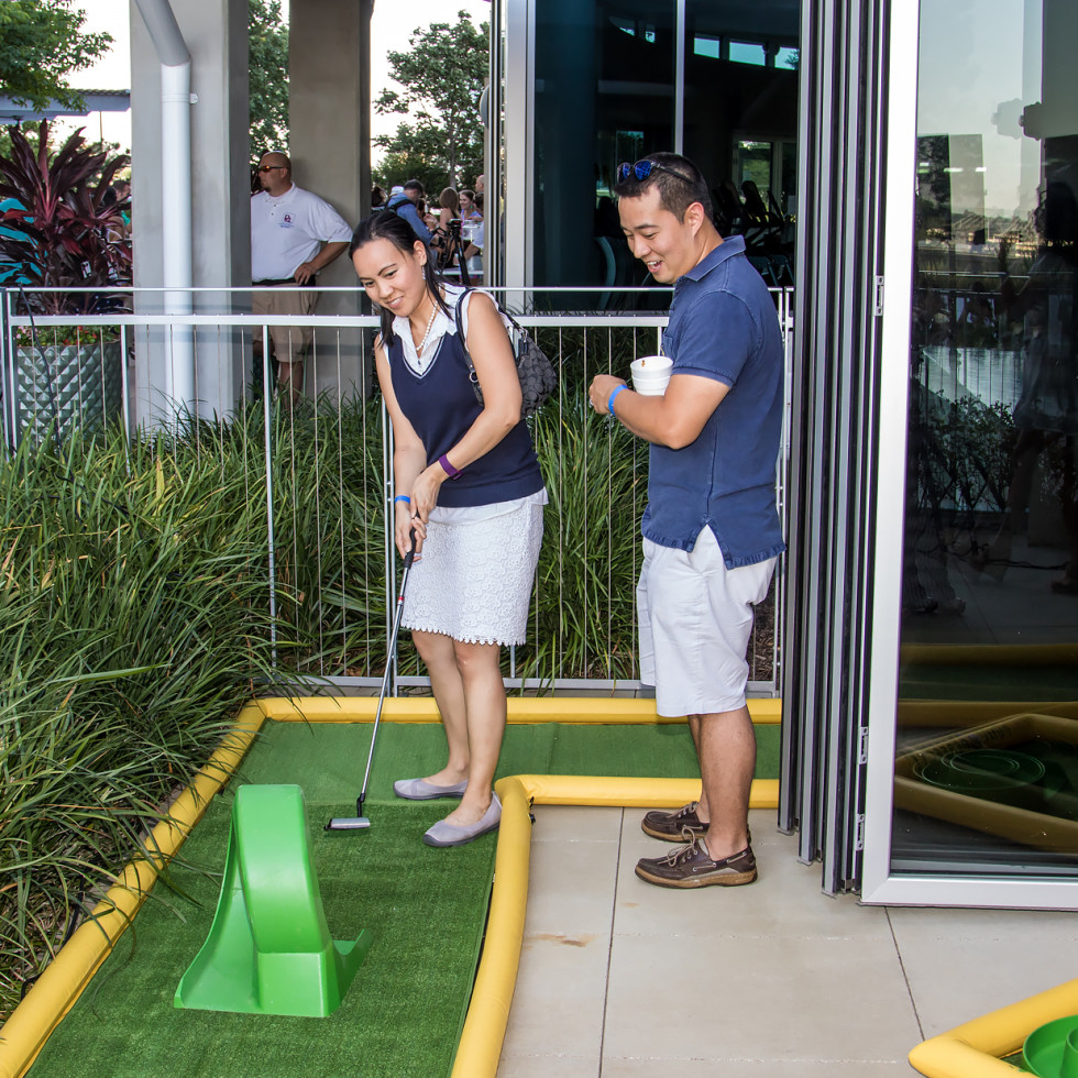 CultureMap Country Club 2016 mini golf
