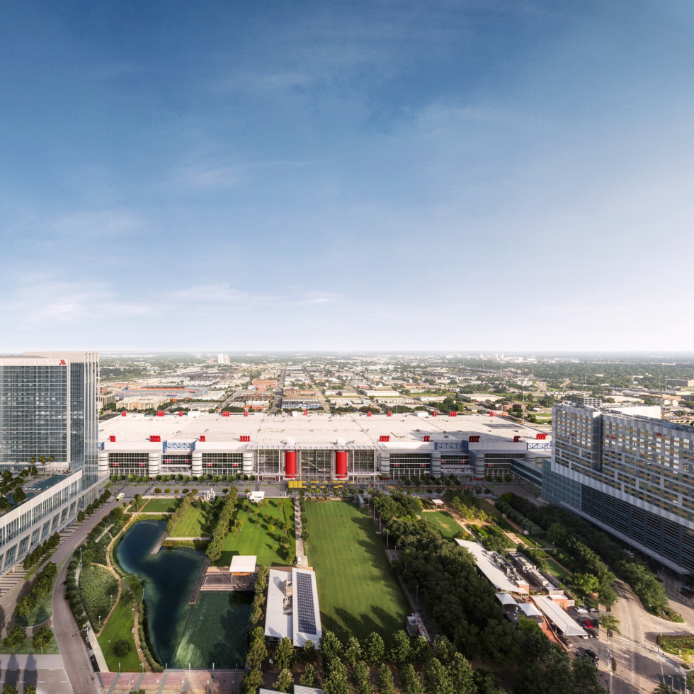 Convention District view rendering