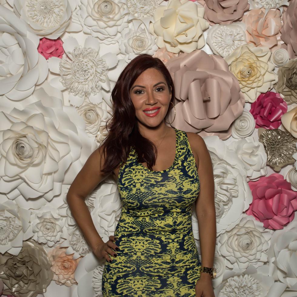 RacQ Cordova at Spoiled Latina Day event