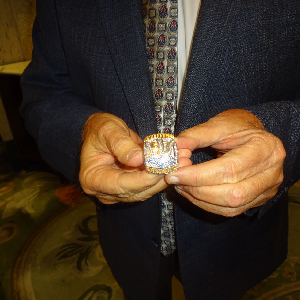 Wade Phillips' Super Bowl Ring