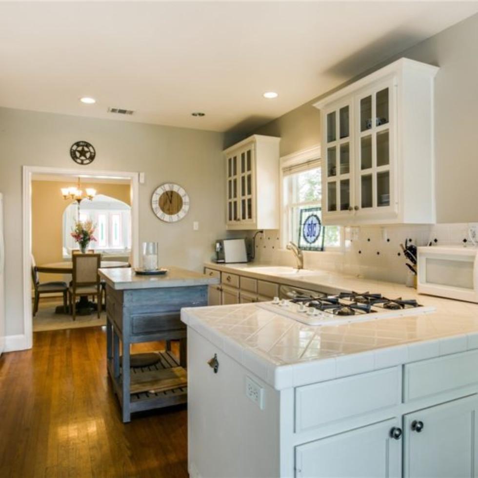 Kitchen at 5839 Marquita Ave. in Dallas