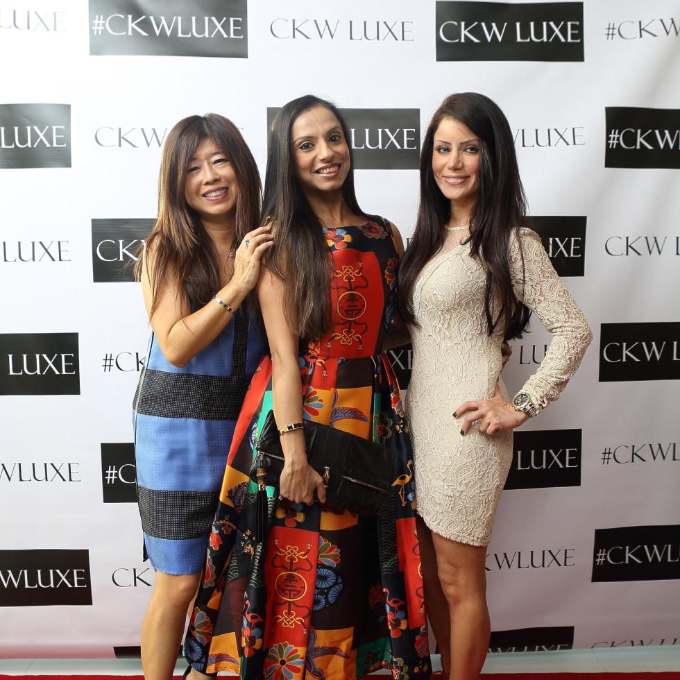 CKW Luxe Star Awards 6/16  Rose Chen, Nevin Noorani, Diane Angel