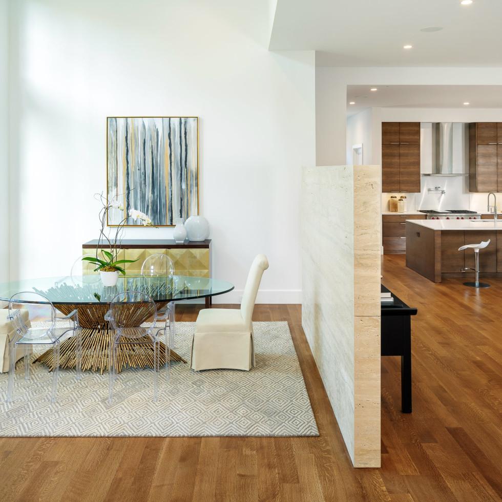 Dining room at 5746 Greenbriar in Dallas