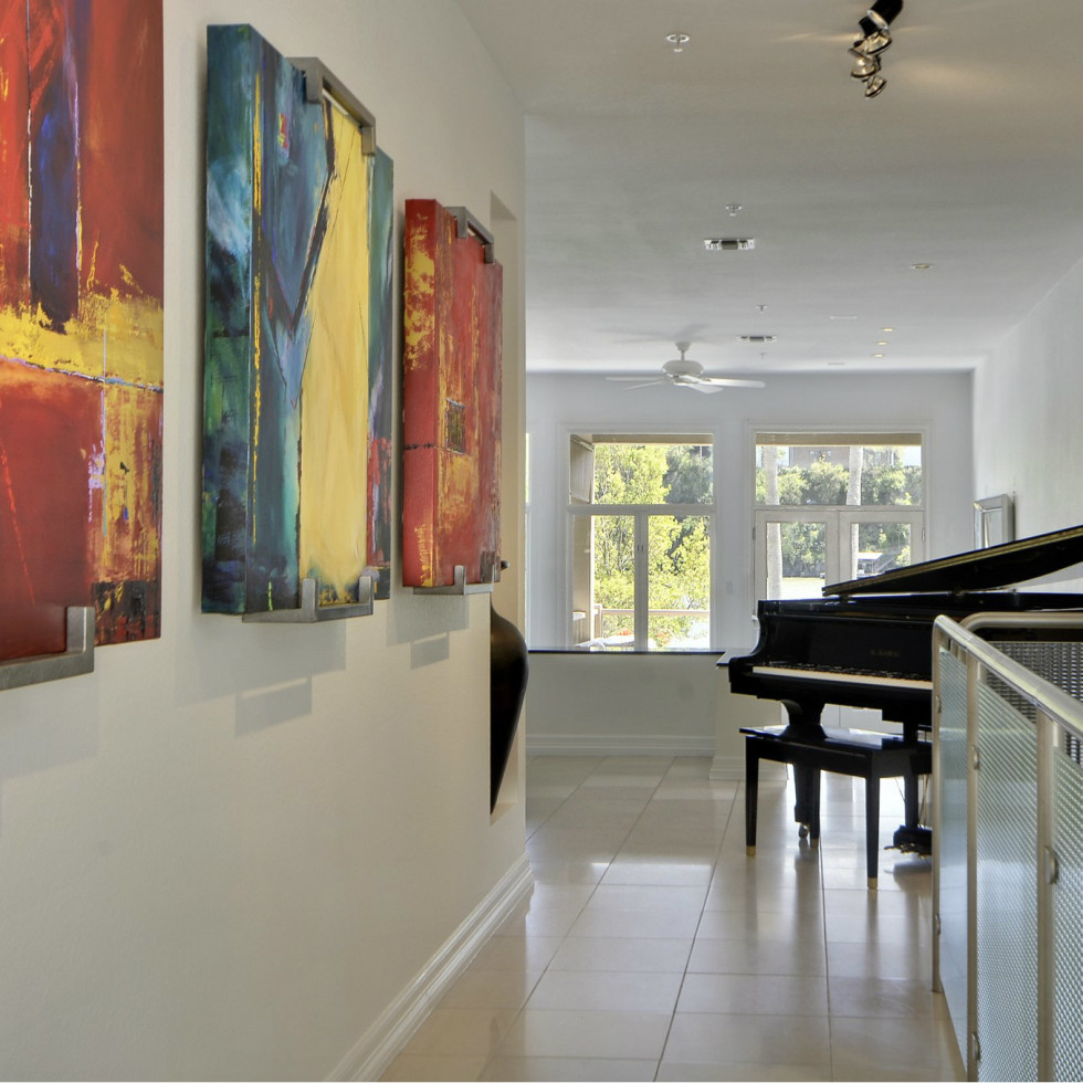 2329 Westlake Austin house for sale hallway