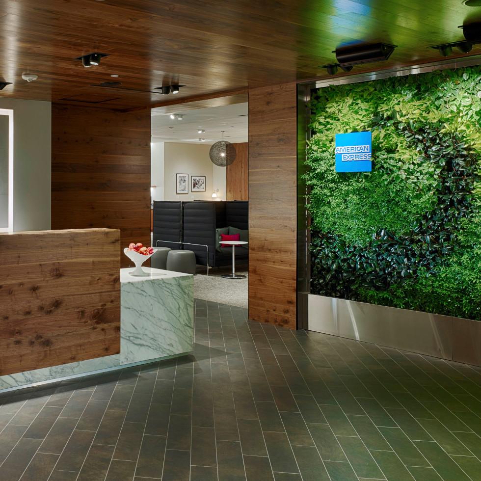 Centurion Lounge at IAH, 6/16 lounge